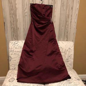 David's Bridal Christmas prom wedding dress